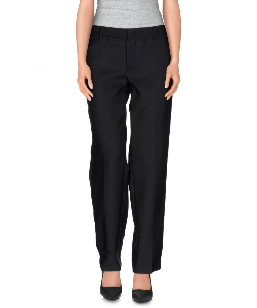 Image for Dsquared2 Black Virgin Wool Trousers