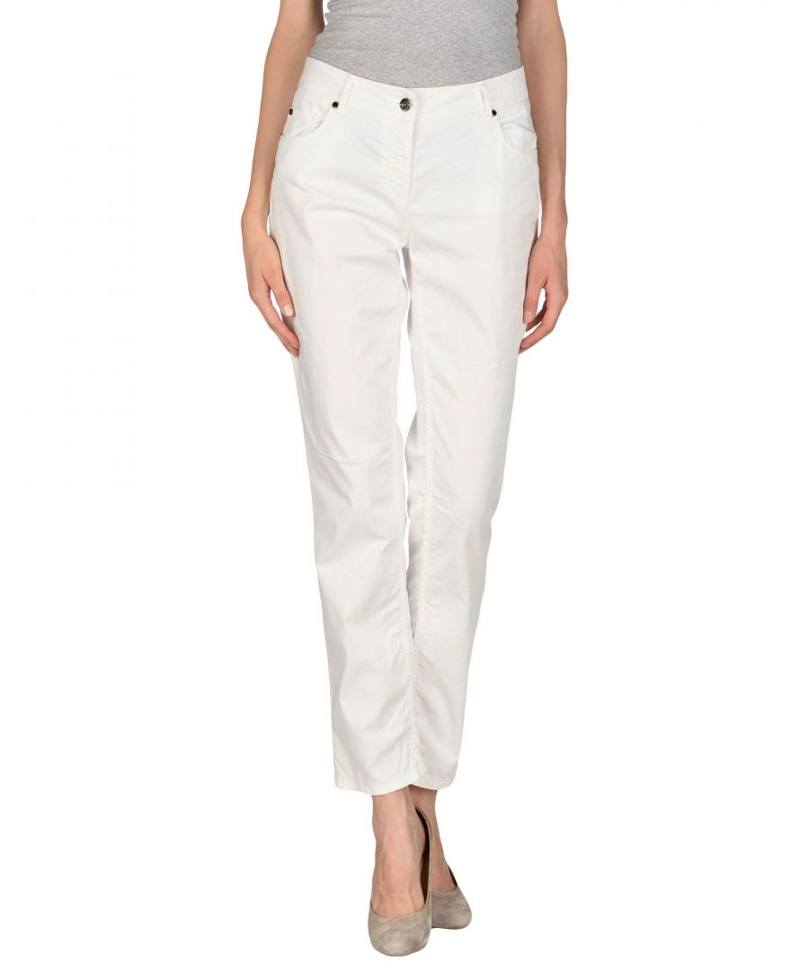 Image for Cerruti 1881 Woman Casual trousers White Cotton