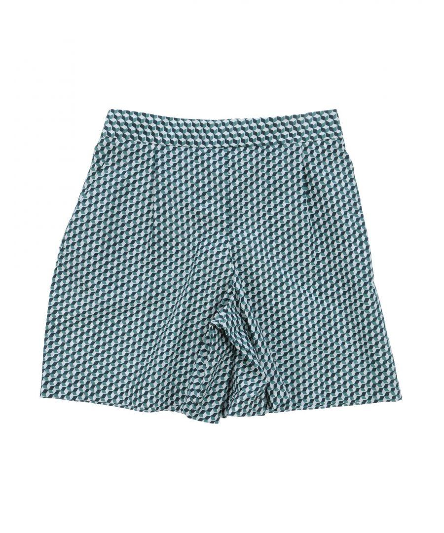 Image for Marni Dark green Girl Cotton Shorts