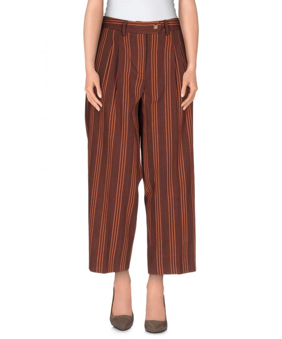 Image for Stella Jean Woman Casual trousers Cocoa Cotton