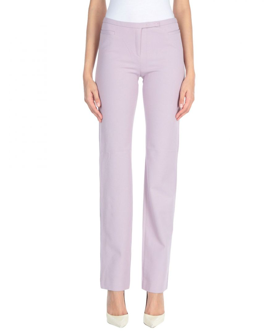 Image for Joseph Lilac Straight Leg Trousers
