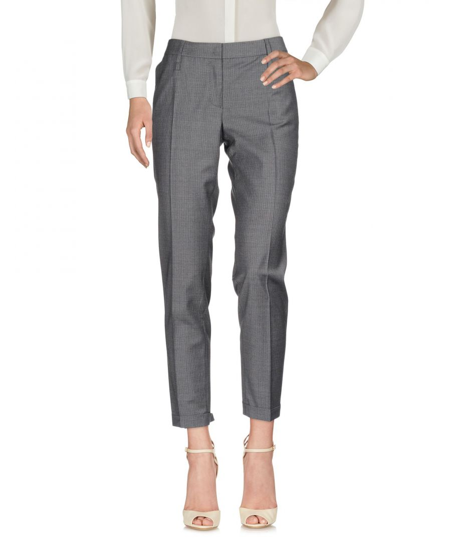 Image for Pme Peserico Woman Casual trousers Grey Virgin Wool