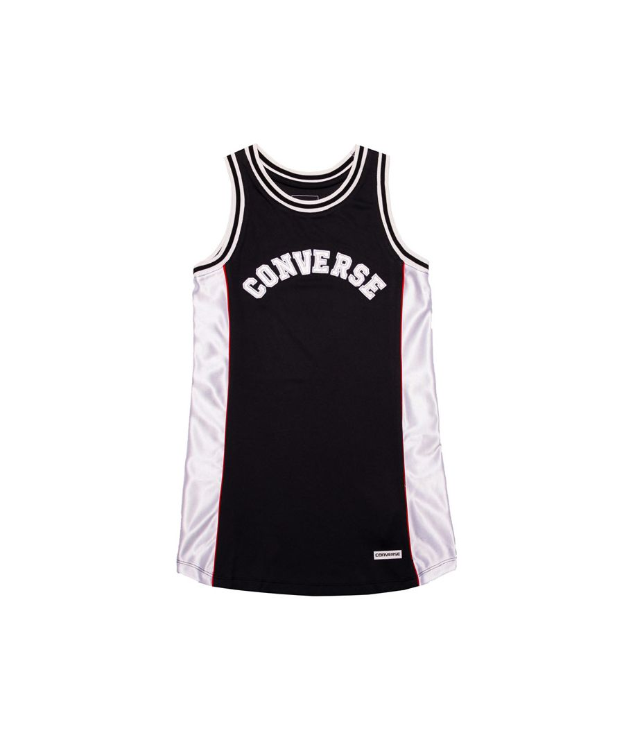 Image for Girl's Converse Infant Basketball Jersey Dress in Black