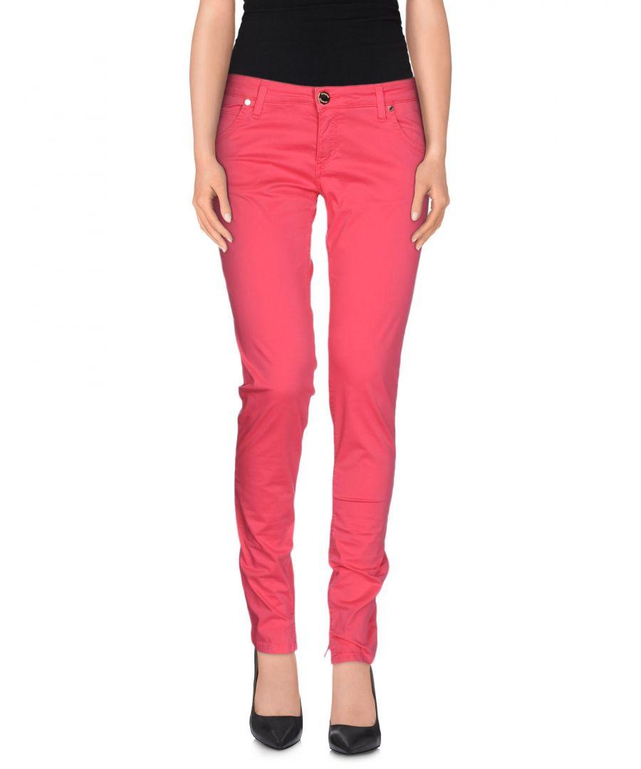 Image for Nenette Woman Casual trousers Fuchsia Cotton