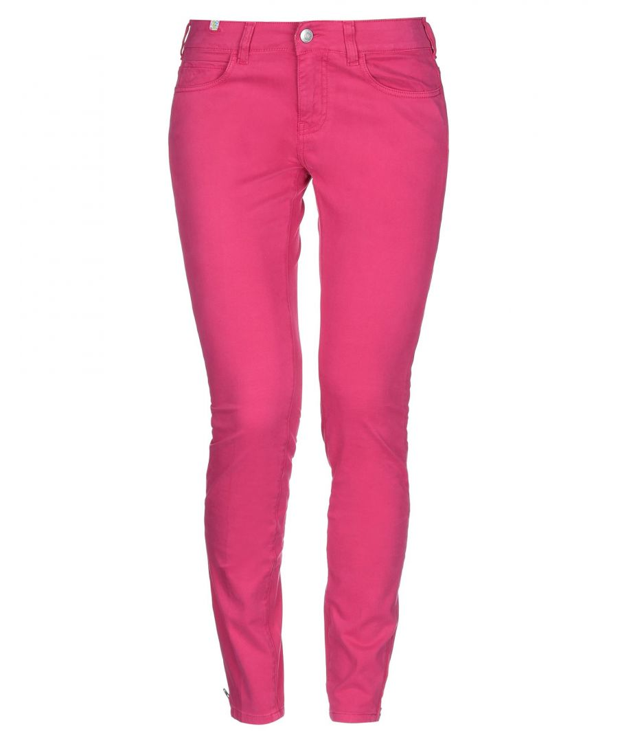 Image for Notify + Manish Arora Women's Casual trousers Fuchsia Cotton