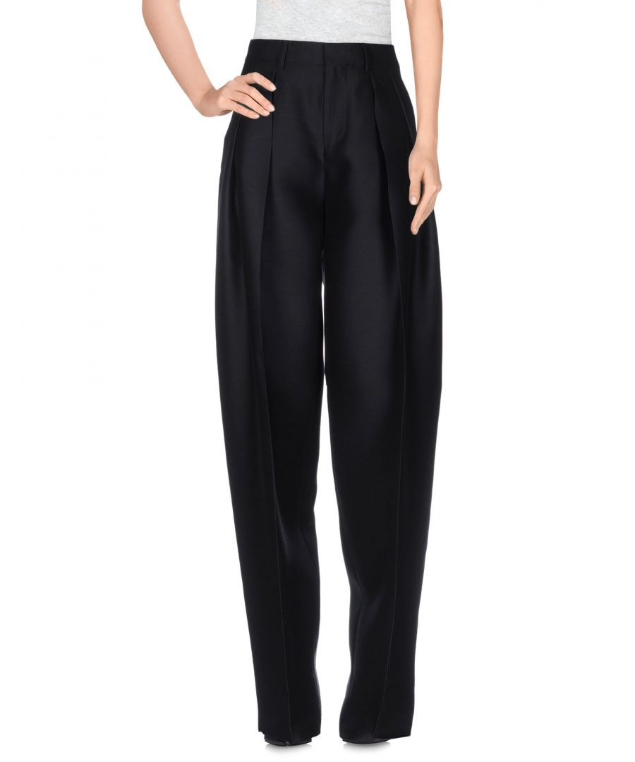 Image for Dsquared2 Black Wool Trousers