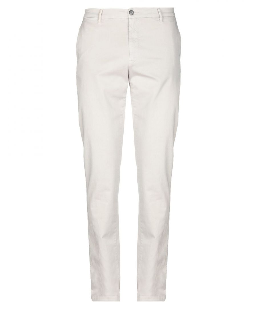 Image for Trussardi Jeans Light Grey Cotton Trousers