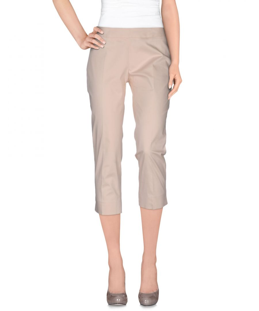 Image for Nenette Woman 3/4-length trousers Light pink Cotton