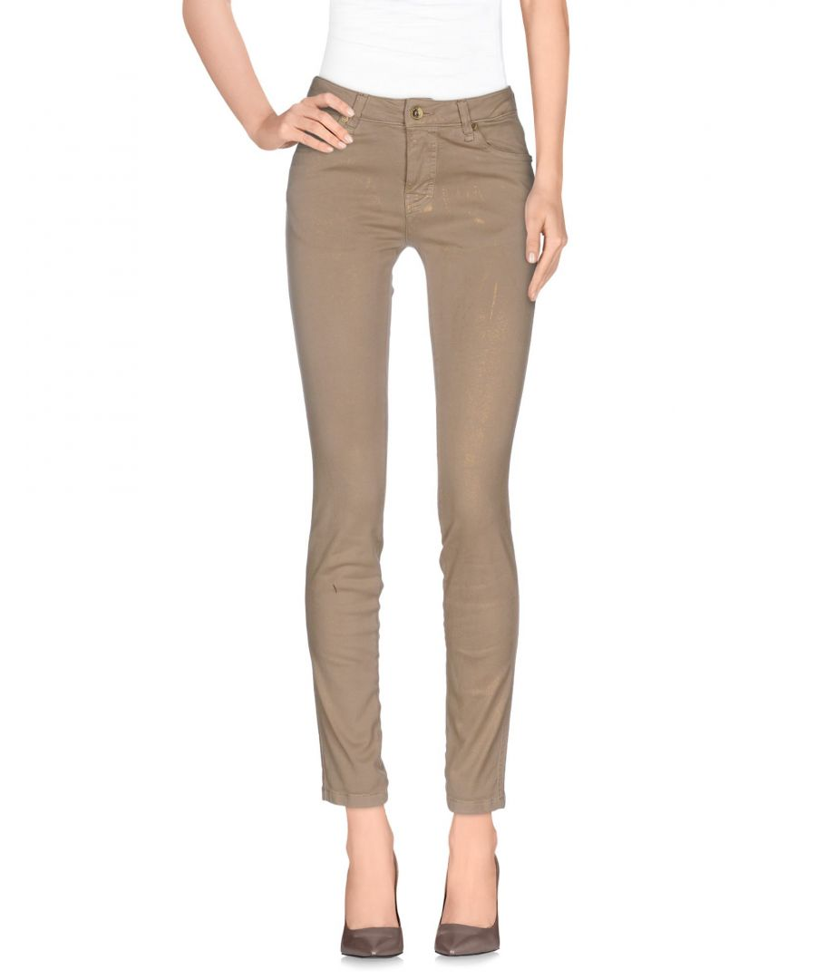 Image for TROUSERS Plein Sud Sand Woman Cotton