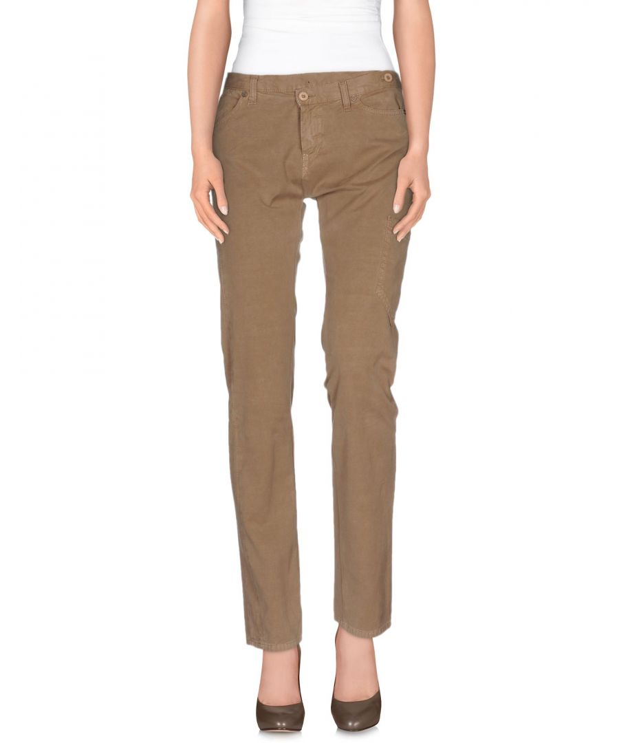 Image for Dondup Khaki Cotton Trousers