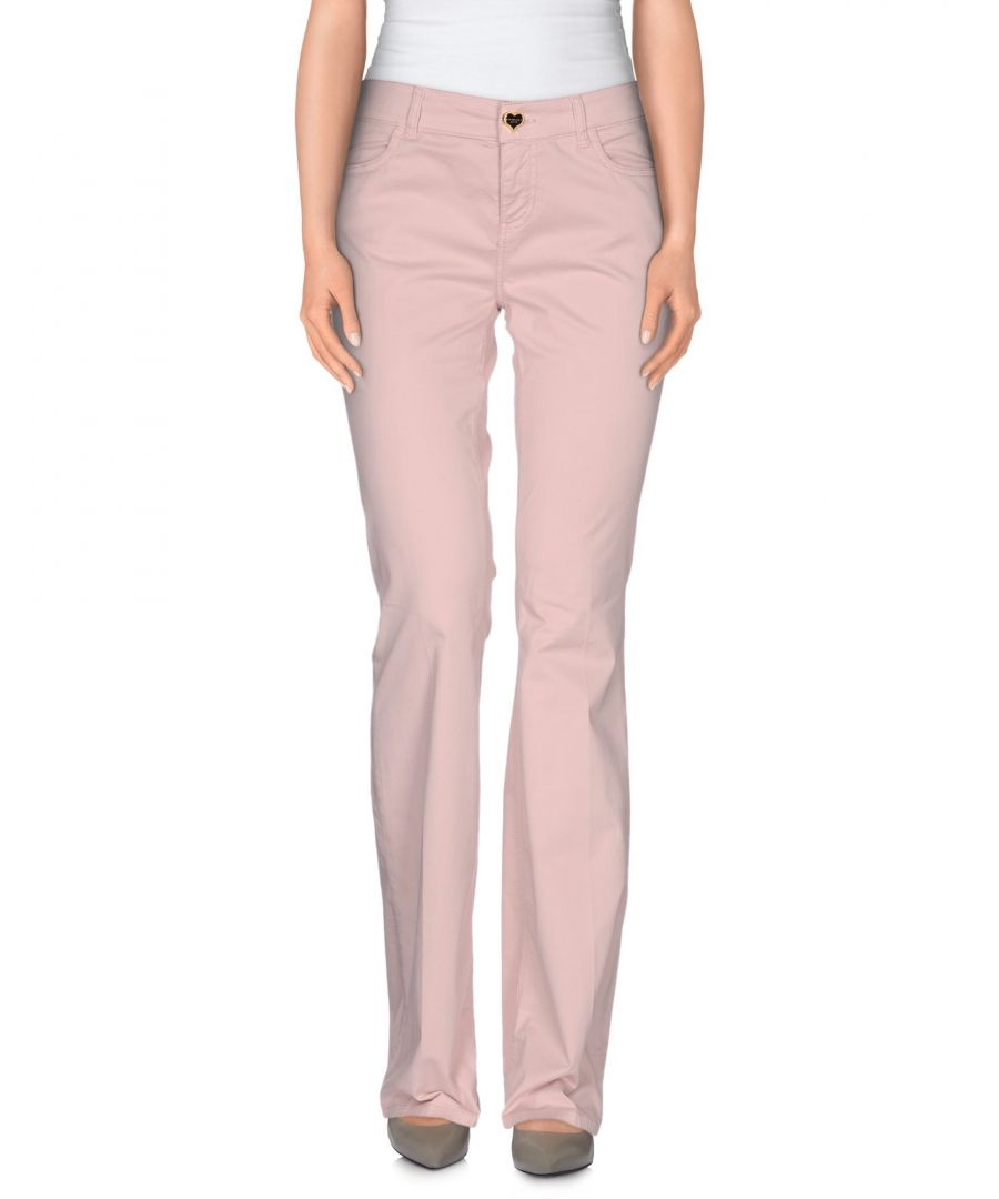 Image for TROUSERS Woman Twin-Set Jeans Pink Cotton