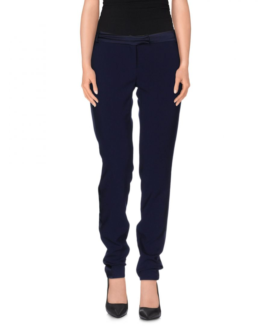 Image for Pierre Balmain Dark Blue Tapered Leg Tailored Trousers