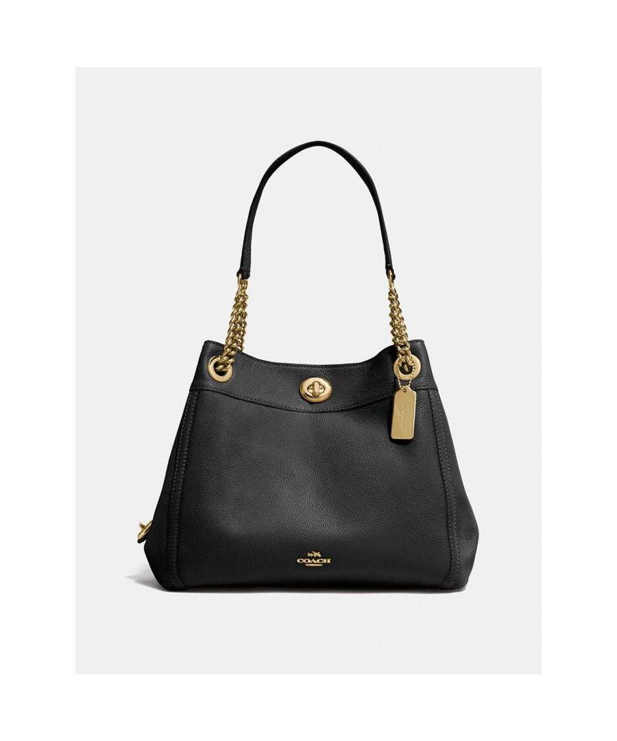 Image for COACH Turnlock Edie Shoulder Bag