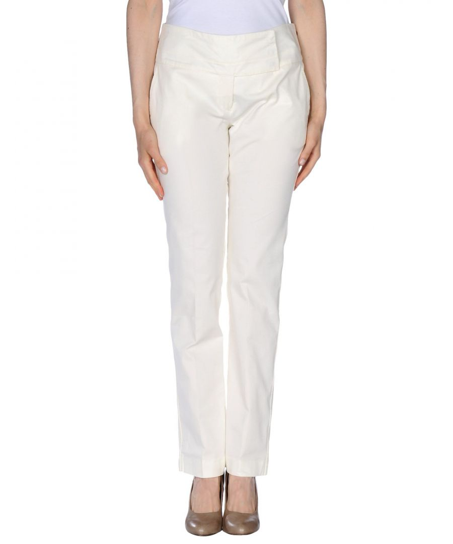 Image for TROUSERS Peuterey Ivory Woman Cotton