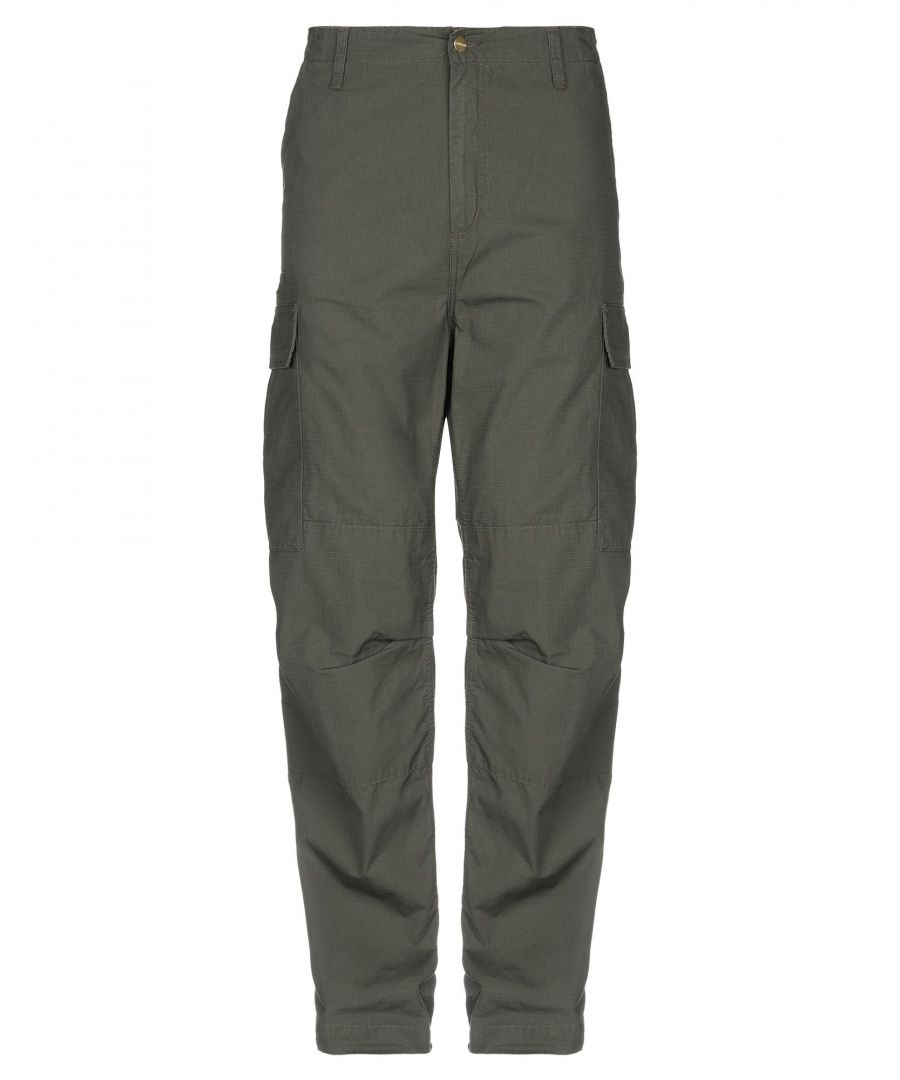 Image for TROUSERS Carhartt Military green Man Cotton