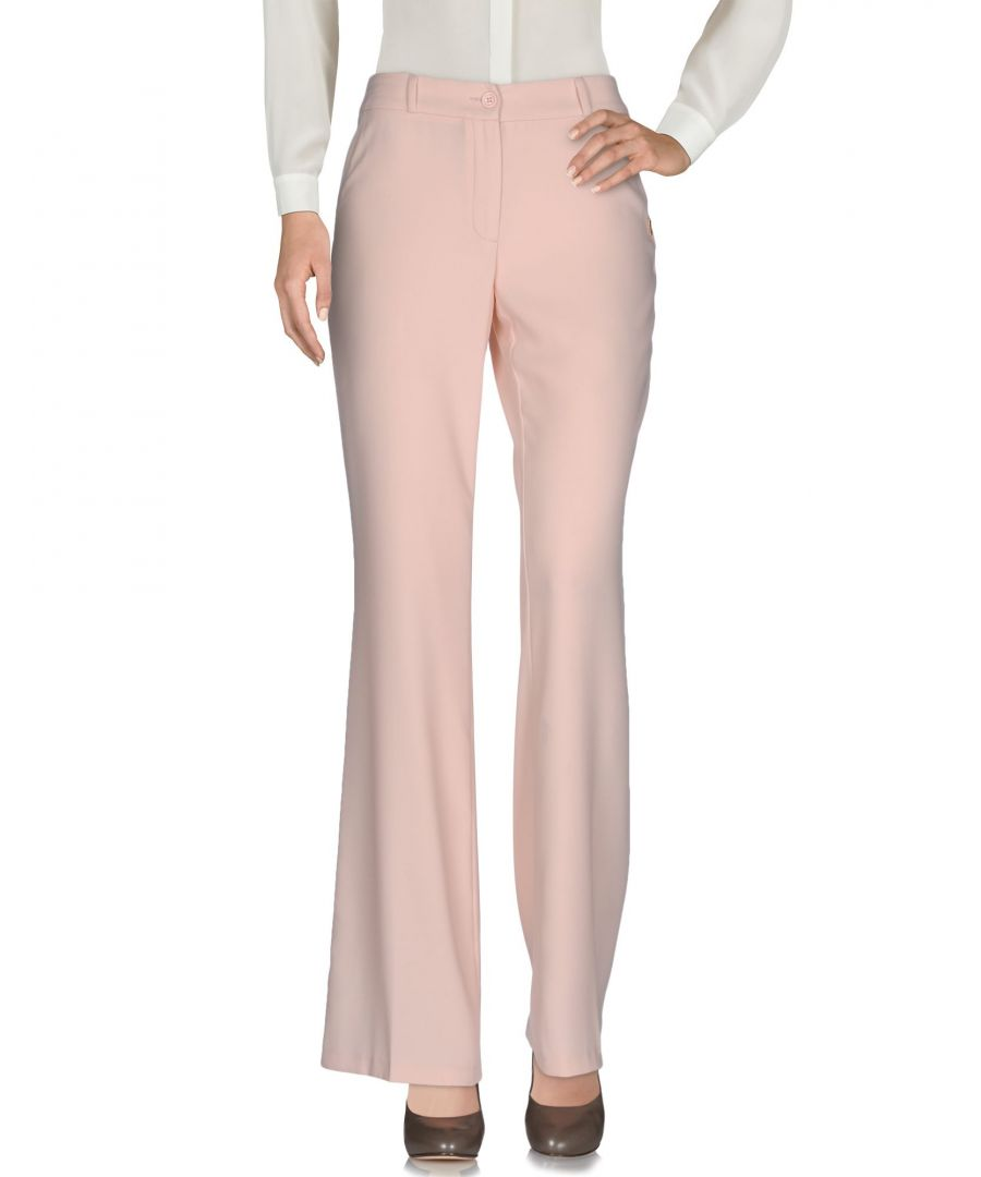 Image for Nenette Woman Casual trousers Light pink Polyester