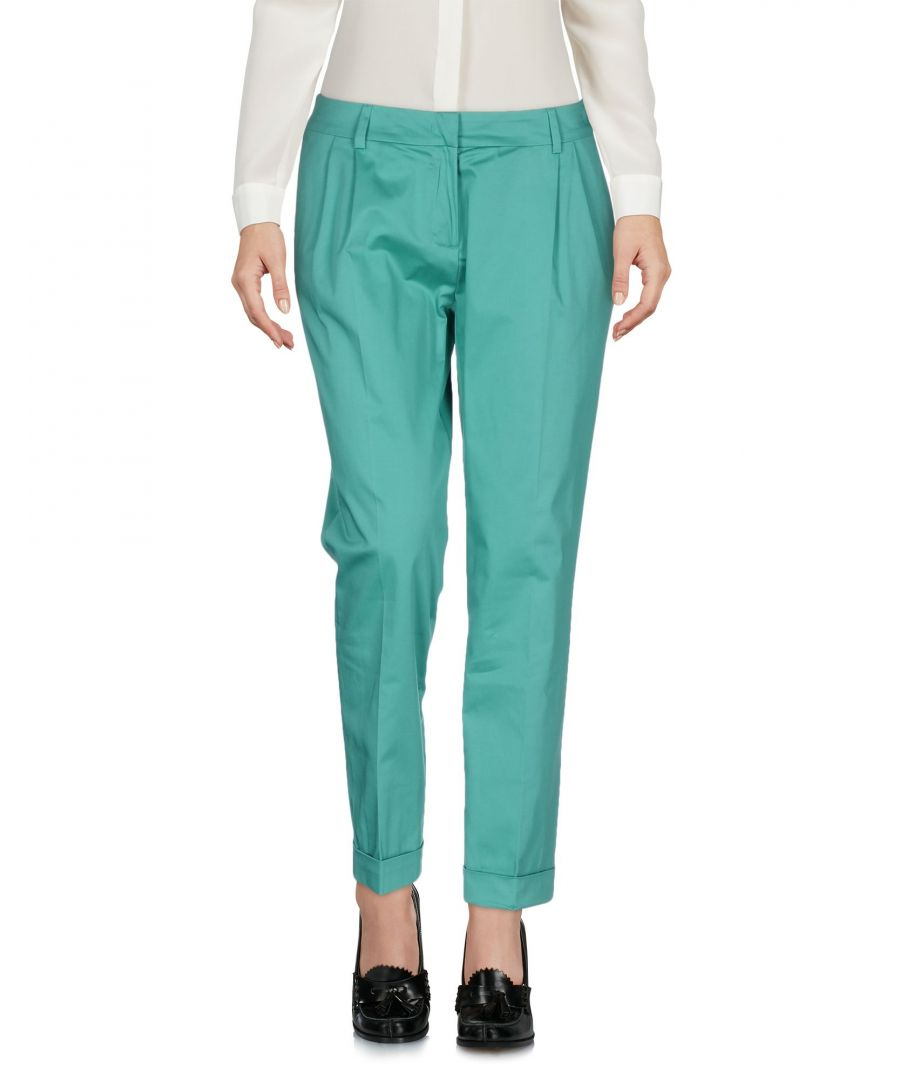 Image for Roberta Scarpa Turquoise Cotton Trousers