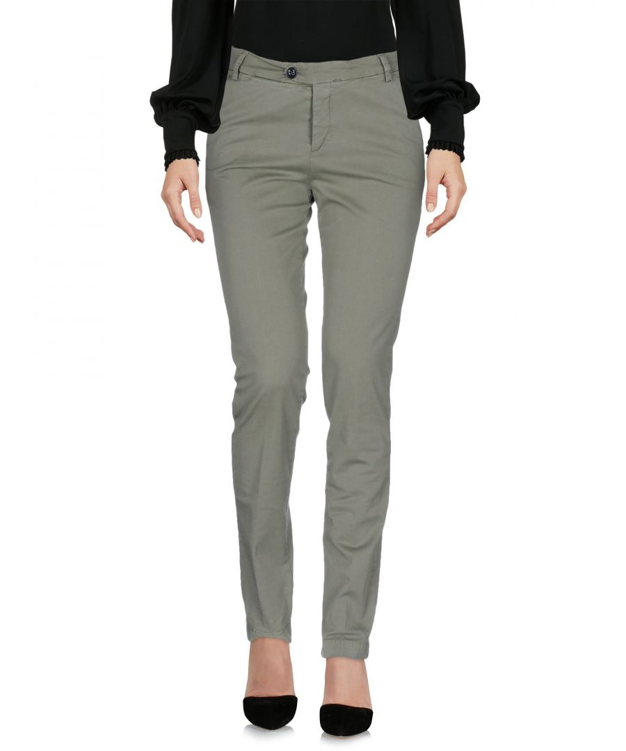 Image for PANTS Be For Milano Military green Woman Cotton