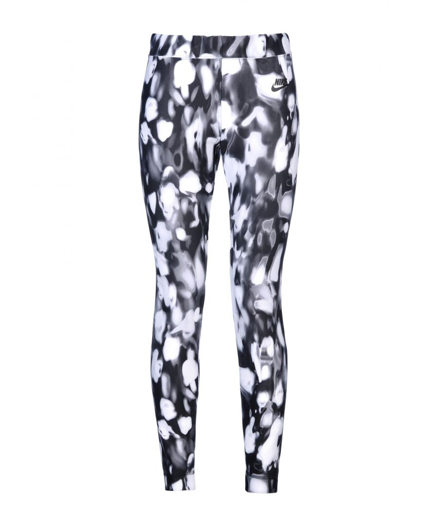 Image for Nike White Print Leggings
