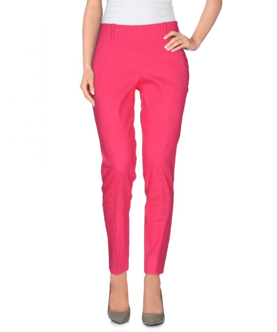 Image for TROUSERS Woman Vdp Collection Fuchsia Linen