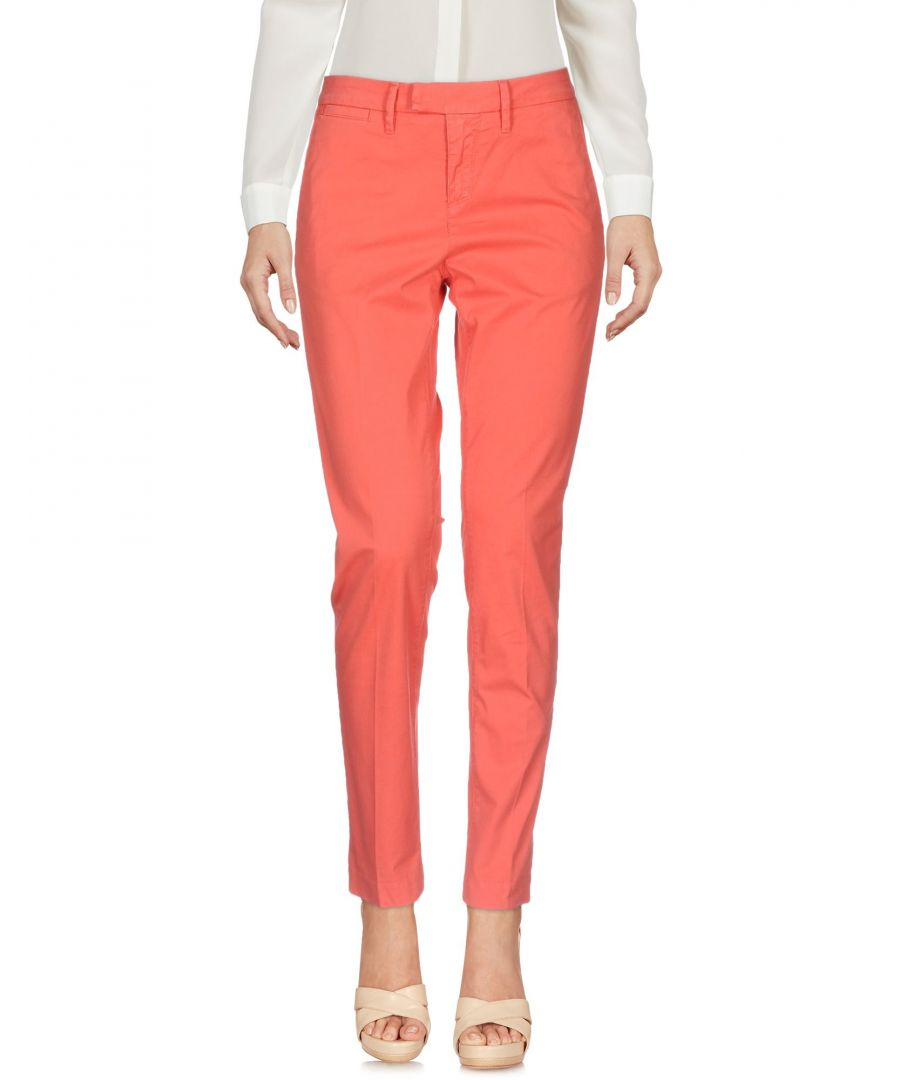 Image for Haikure Coral Cotton Chino Trousers