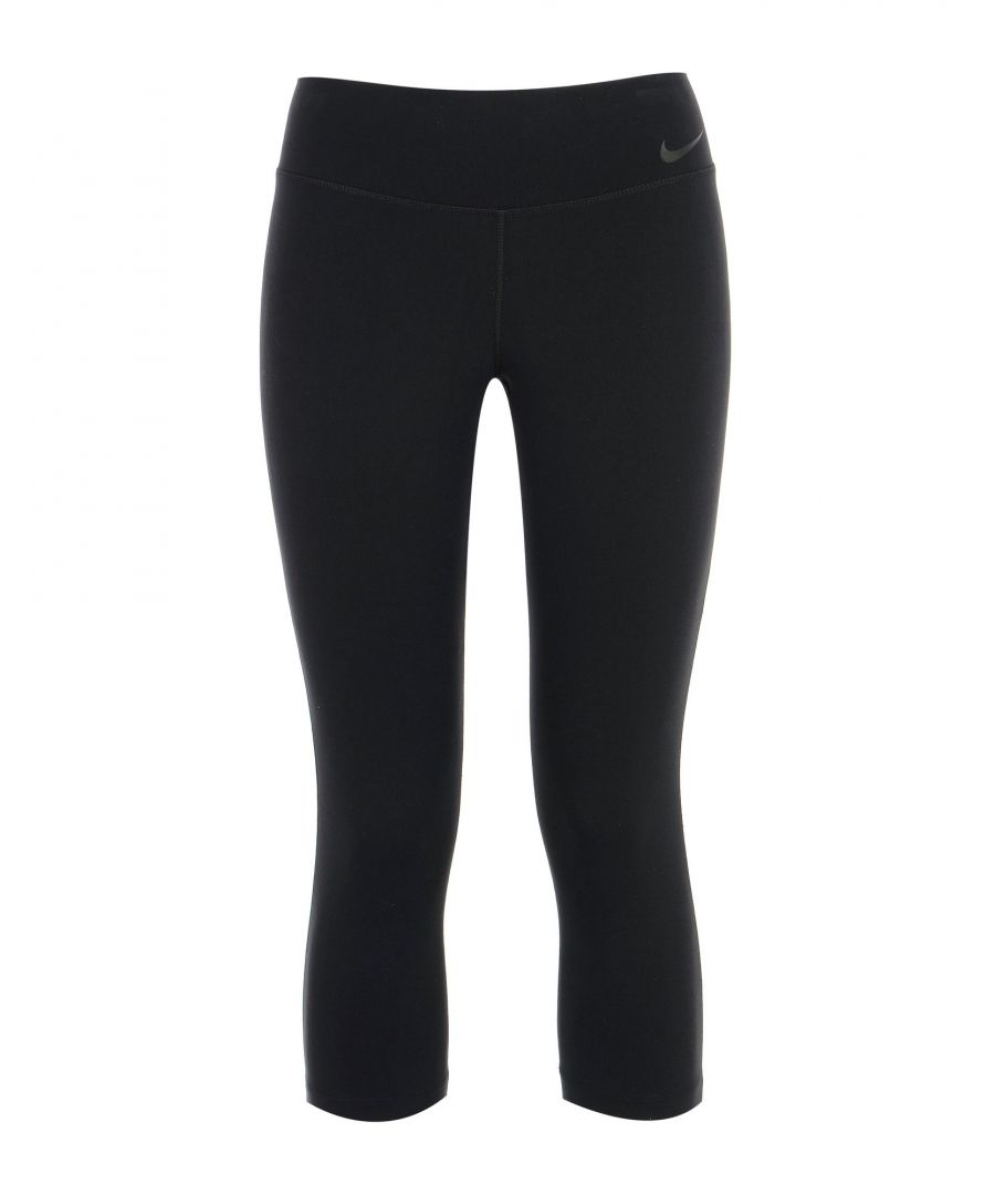 Image for Nike Black Nylon Leggings