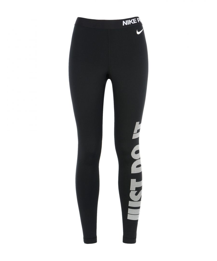Image for Nike Black Logo Leggings