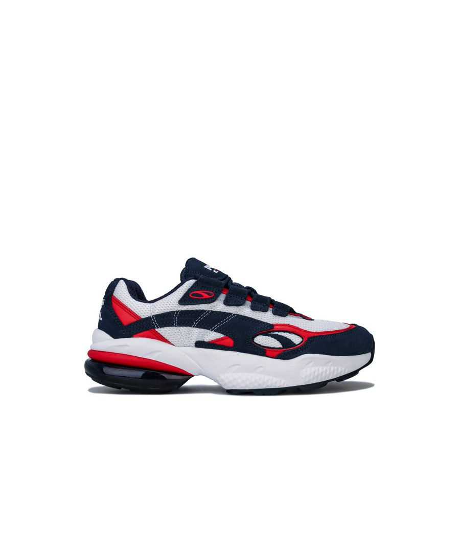 Image for Women's Puma Cell Venom Trainers in Navy Red