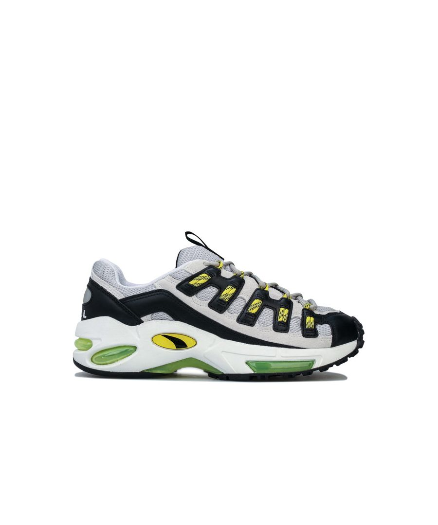 Image for Men's Puma Cell Endura Trainers in White yellow
