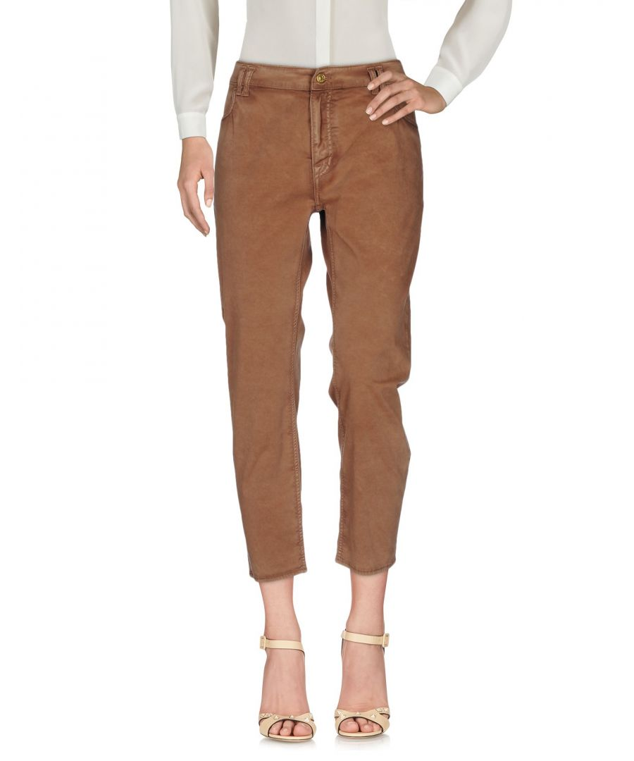 Image for TROUSERS Woman Cycle Brown Cotton
