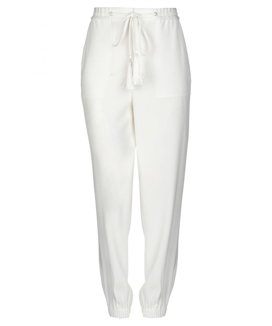 Image for Derek Lam 10 Crosby White Trousers