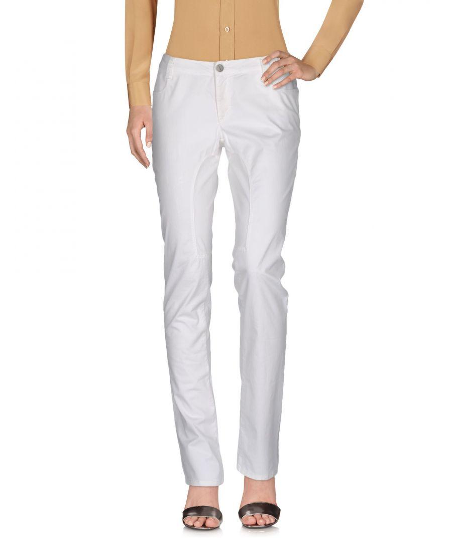 Image for Siviglia White Cotton Trousers