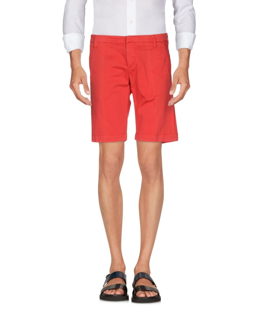 Image for TROUSERS Michael Coal Red Man Cotton