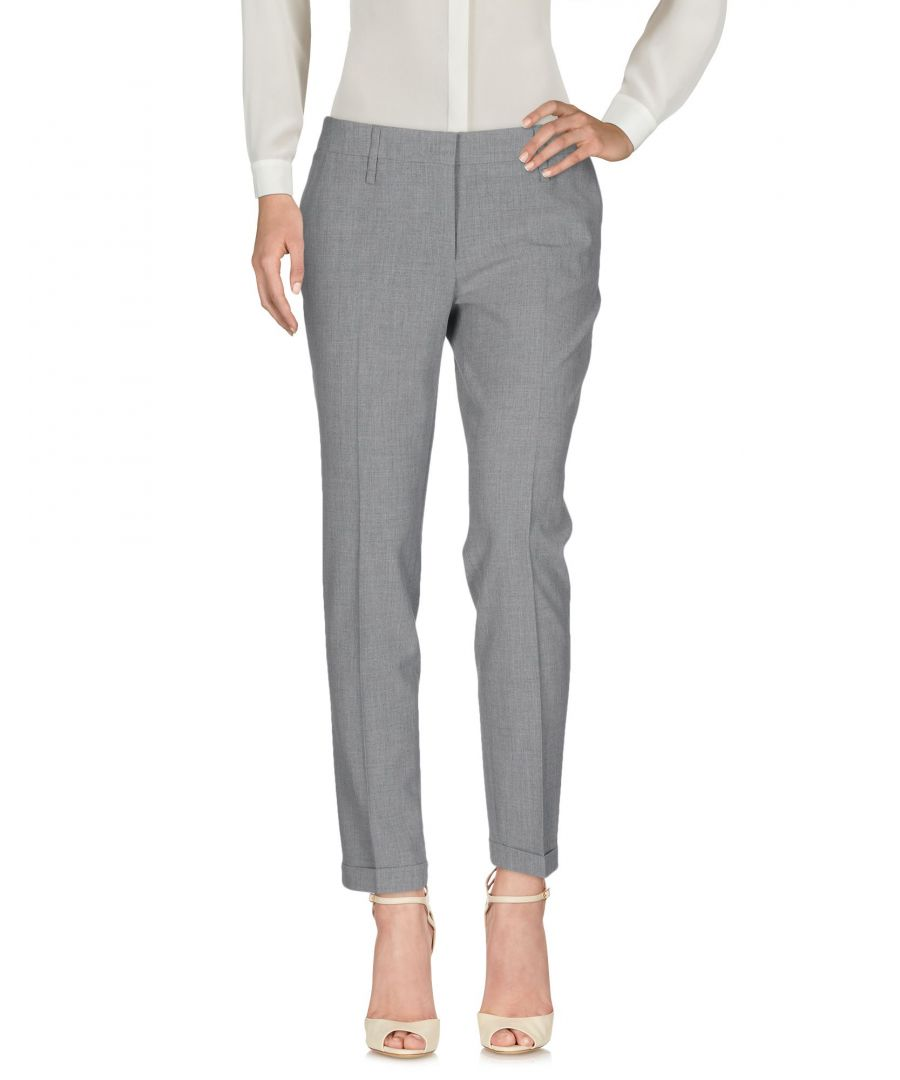 Image for Pme Peserico Woman Casual trousers Grey Polyester