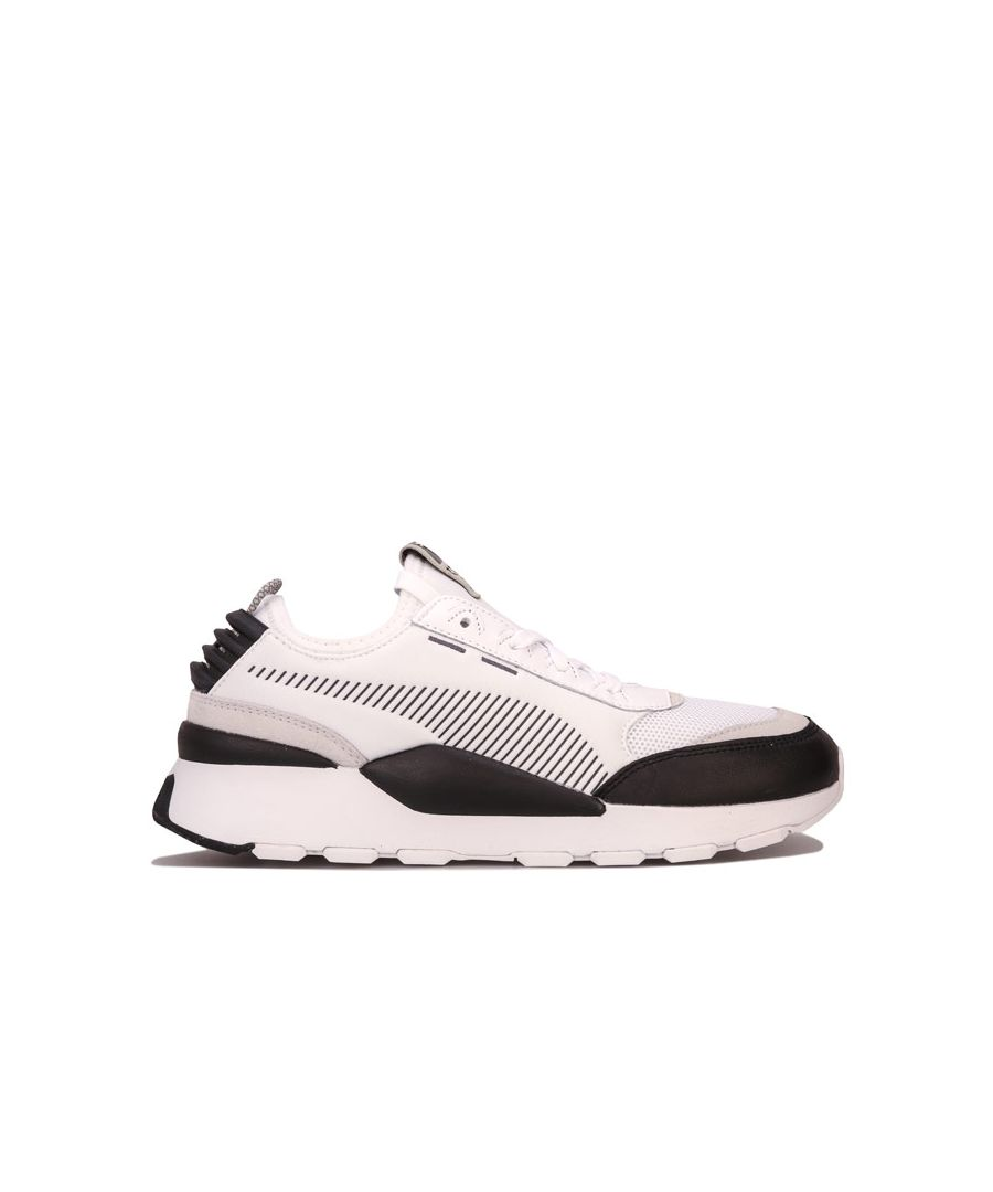 Image for Men's Puma RS-0 CORE Trainers in White Grey
