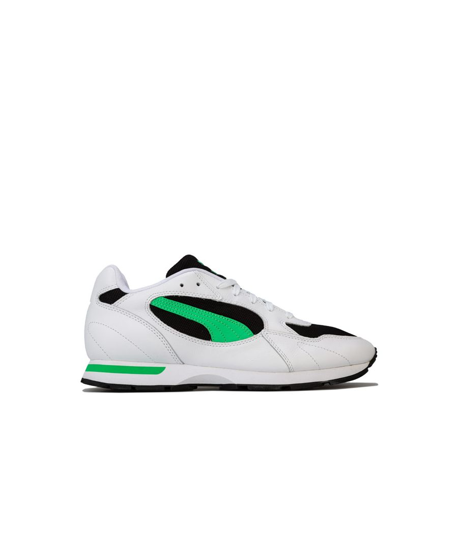 Image for Men's Puma Proclaim Trainers in White Green
