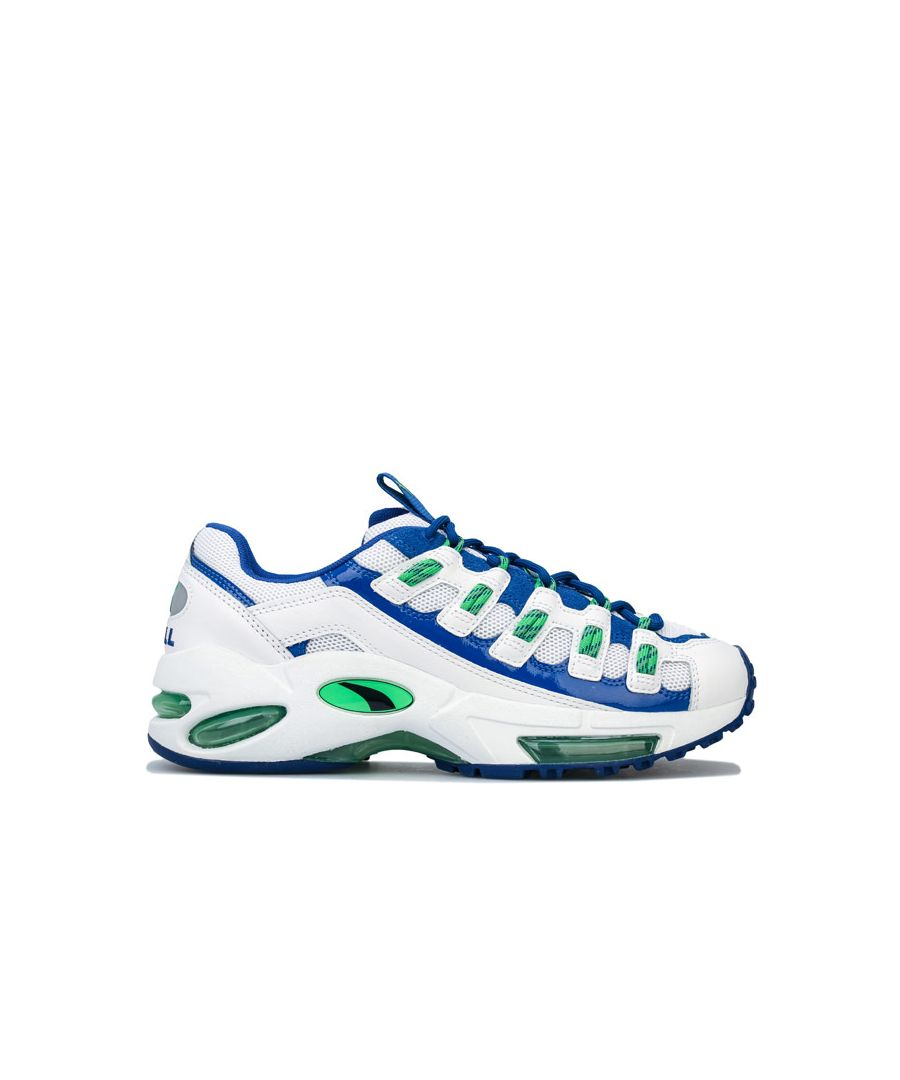 Image for Men's Puma Cell Endura Patent 98 Trainers in White Green