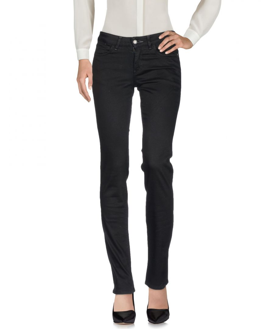 Image for Guess Black Cotton Trousers