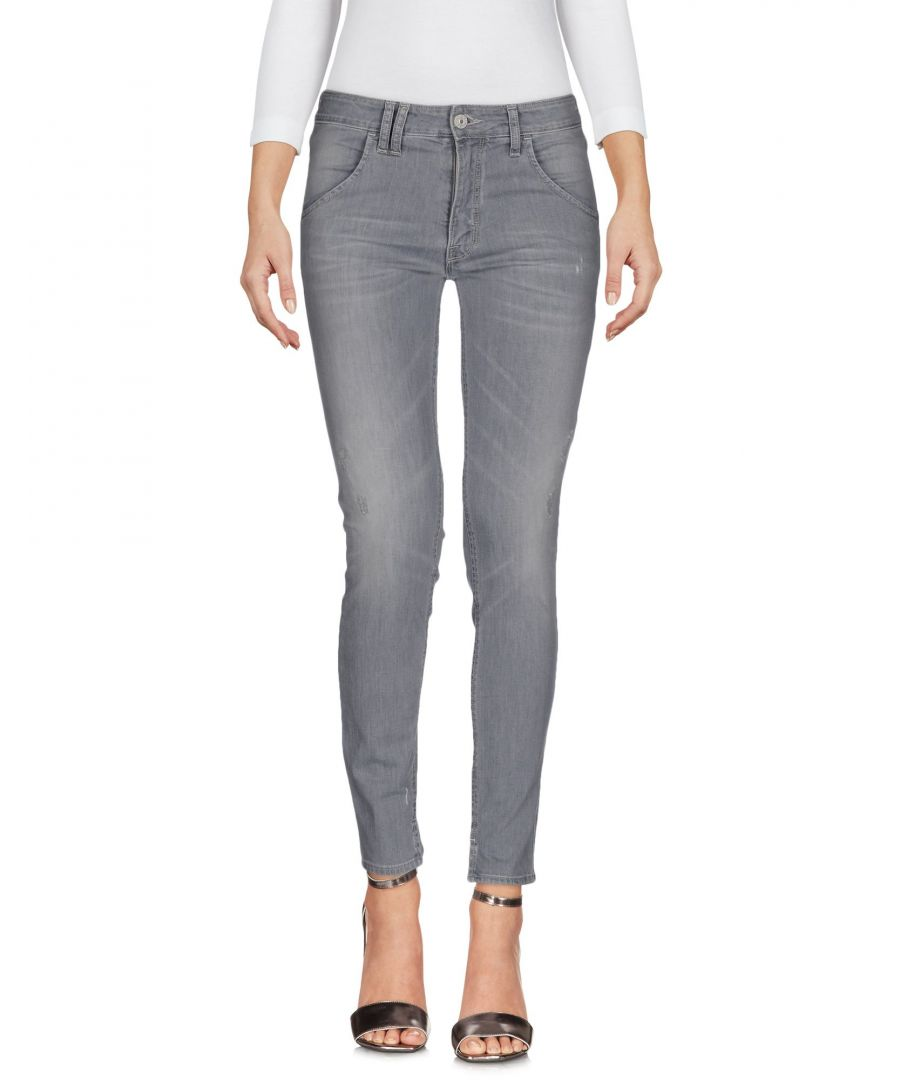 Image for Cycle Women's Denim Trousers Grey Cotton