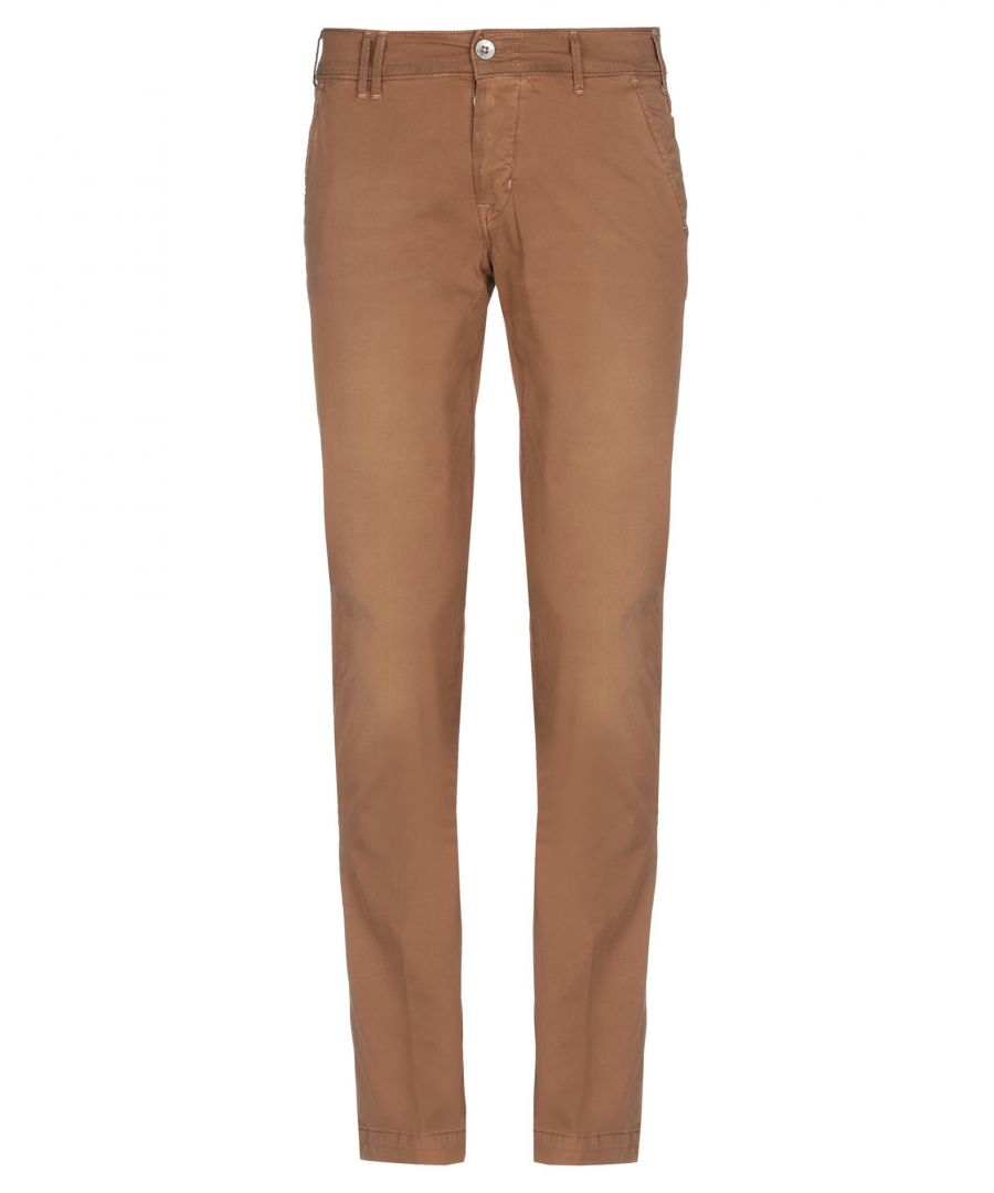 Image for TROUSERS Man Cycle Camel Cotton