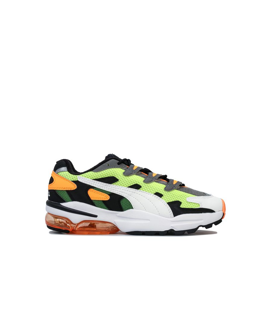 Image for Men's Puma Cell Alien OG Trainers in Yellow
