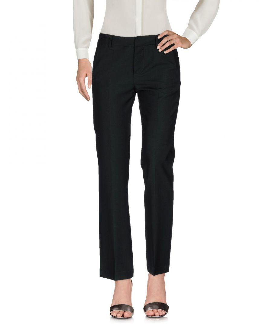 Image for Dondup Dark Green Virgin Wool Trousers