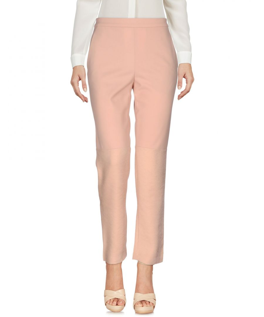 Image for Philosophy Di Alberta Ferretti Pastel Pink Straight Leg Tailored Trousers