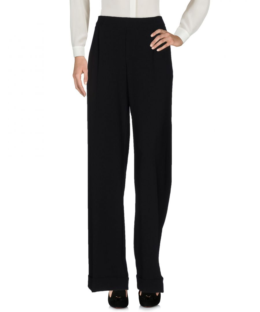Image for P.A.R.O.S.H. Black Tailored Trousers