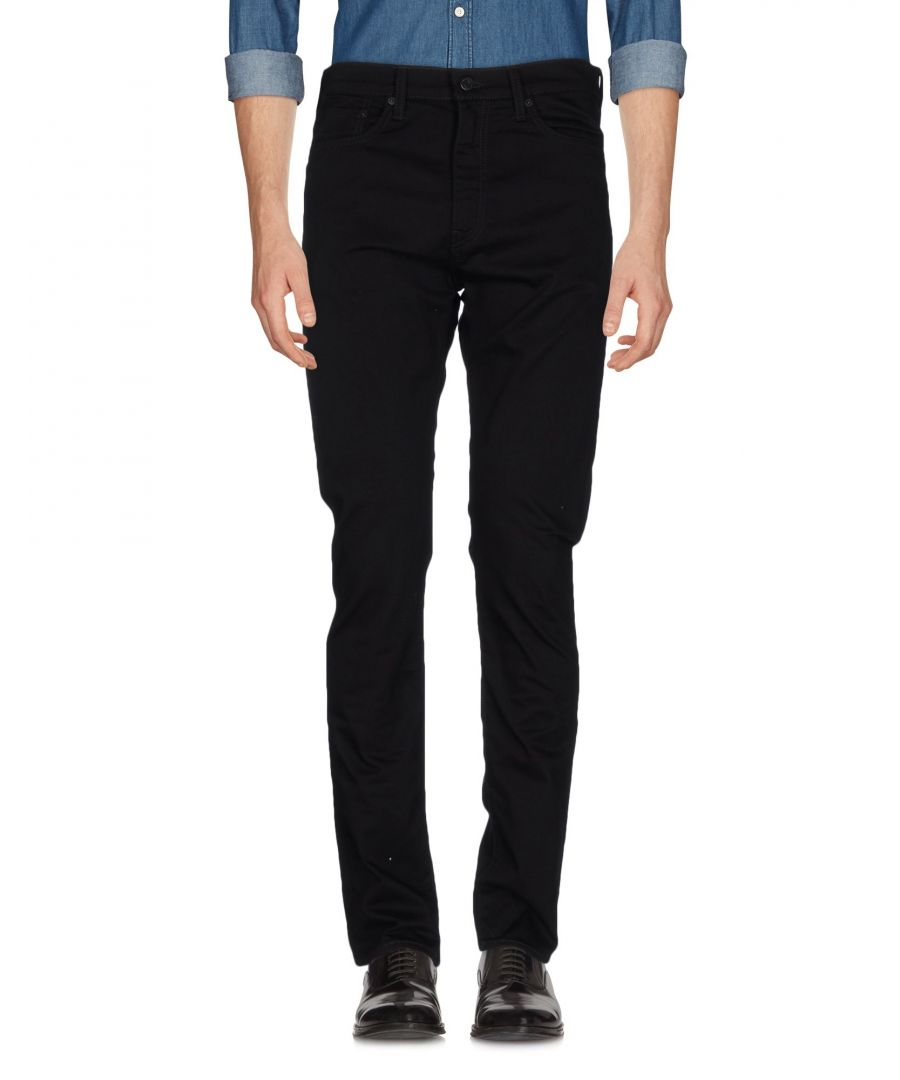 Image for Levi's Black Cotton Trousers