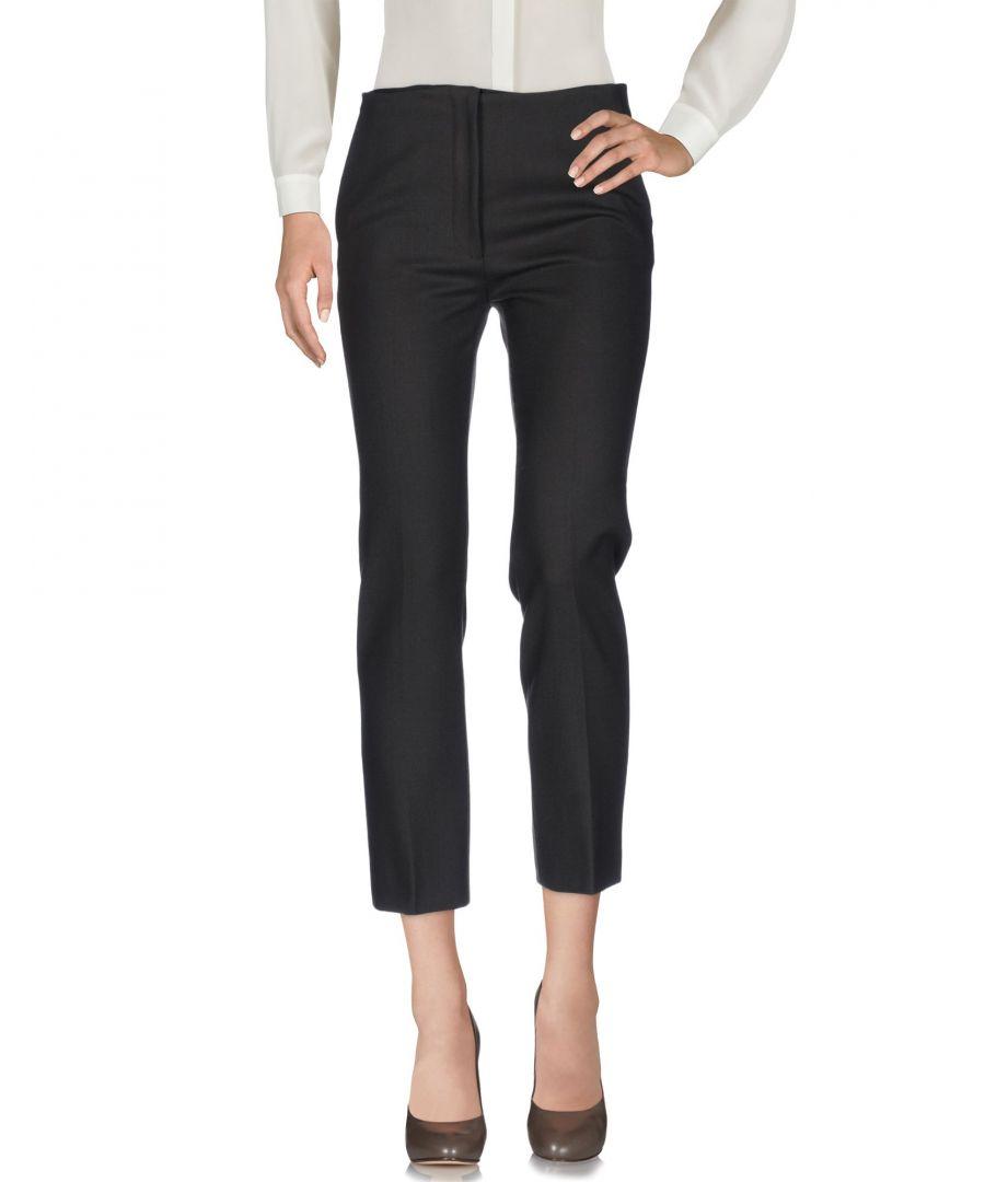 Image for Miu Miu Dark Brown Virgin Wool Tailored Trousers