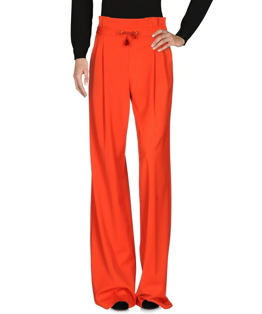 Image for Mangano Red Wide Leg Trousers