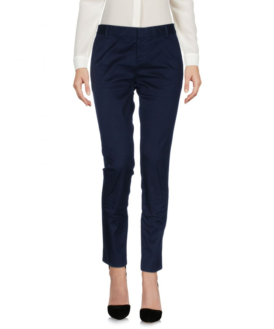 Image for Dsquared2 Dark Blue Cotton Trousers