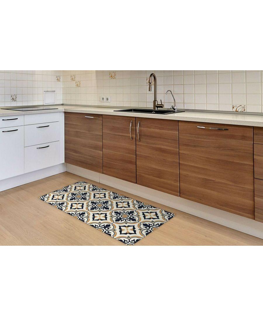 Image for European Vintage Floral Pattern Rug Mat 120cm x 60 cm Floor Mats, Floor Rugs