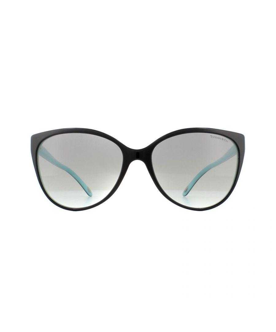 Image for Tiffany Sunglasses TF 4089B 80553C Black Grey Gradient